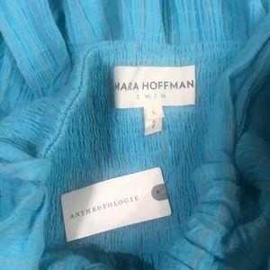 Mara Hoffman Swim - Mara Hoffman Blue Halter Swim Coverup